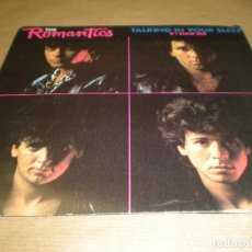 Discos de vinilo: THE ROMANTICS. TALKING IN YOUR SLEEP. ROCK YOU UP. Lote 97895911