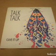Discos de vinilo: TALK TALK. GIVE IT UP. PICTURES OF BERNADETTE. Lote 97896551