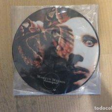 Discos de vinilo: VINILO DE MARILYN MANSON (PICTURE) TOURNIQUET. Lote 97908291
