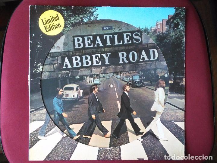 THE BEATLES-ABBEY ROAD (LP.APPLE.1979) REEDICION EN PICTURE DISC CLASICO DE 1969. LENNON-MCCARTNEY (Música - Discos - LP Vinilo - Pop - Rock Extranjero de los 50 y 60)