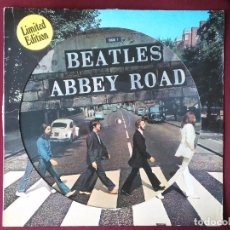 Discos de vinilo: THE BEATLES-ABBEY ROAD (LP.APPLE.1979) REEDICION EN PICTURE DISC CLASICO DE 1969. LENNON-MCCARTNEY. Lote 174145289