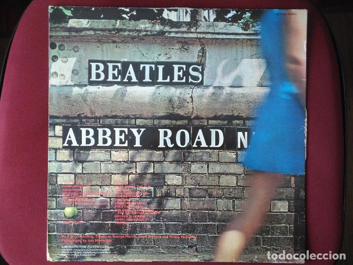 Discos de vinilo: The Beatles-Abbey Road (lp.Apple.1979) reedicion en picture disc clasico de 1969. Lennon-McCartney - Foto 2 - 174145289