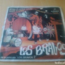 Discos de vinilo: LOS BRAVOS - BRING A LITTLE LOVIN' + MAKE IT LAST. Lote 97913479