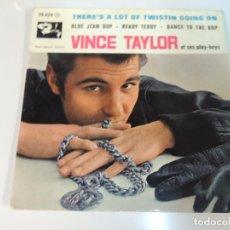 Discos de vinilo: VINCE TAYLORS ET SES PLAY BOYS - DISCO VINILO EP FR - BLUE JEAN COP READY TEDDY . Lote 97918659