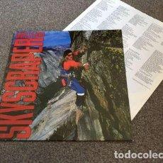 Discos de vinilo: DAVID LEE ROTH / SKYSCRAPER 1988, STEVE VAI,JUST LIKE PARAD !! RARA 1ª EDIC + INSERT, TODO IMPECABLE. Lote 97934155