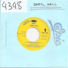 Disques de vinyle: DARYL HALL - STOP LOVING ME, STOP LOVING YOU (SINGLE PROMO ESPAÑOL, EPIC RECORDS 1993). Lote 97940971