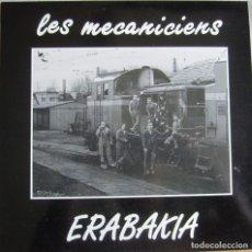 Disques de vinyle: MECANICIENS, LES: ERABAKIA. Lote 97977603