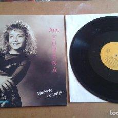 Discos de vinilo: ANA YURENA CANCIONES INFANTILES CANARIAS. Lote 97977983