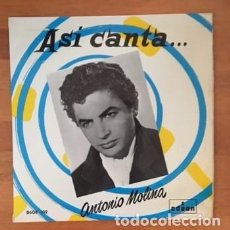 Discos de vinilo: ANTONIO MOLINA - 1958. Lote 200536517