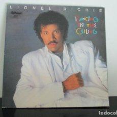 Discos de vinilo: LIONEL RICHIE = DANCING ON THE CEILING. Lote 97981171