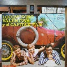 Discos de vinilo: LOCOMOTORO VALENTINA Y EL CAPITÁN TAN - 1ER FESTIVAL DE LA CANCIÓN INFANTIL - EP. SONO PLAY 1967. Lote 97988603