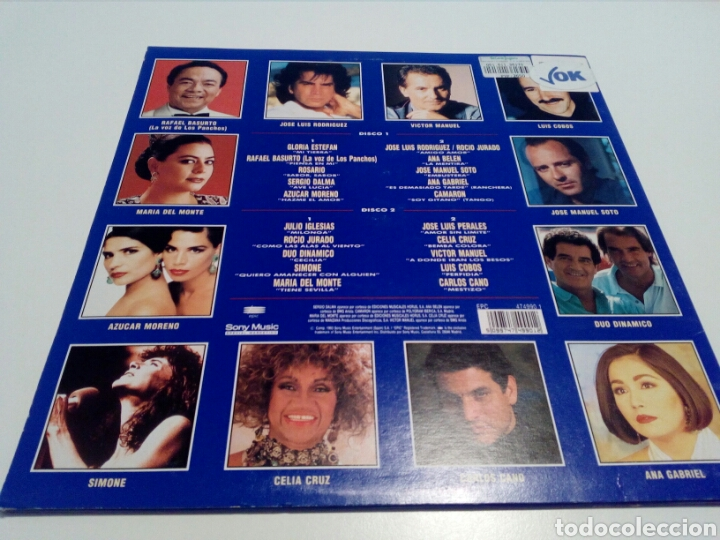 Discos de vinilo: LP. GIGANTES 2. DOBLE DISCO. EPIC 1993. - Foto 2 - 97990747