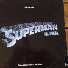 Discos de vinilo: SUPERMAN EL FILM 1978 JOHN WILLIAMS. Lote 97992119