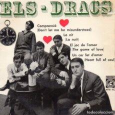 Discos de vinilo: DRACS, EP, COMPRENSIÓ (DON´T LET ME BE MISUNDERSTOOD) + 3, AÑO 1965. Lote 97994719
