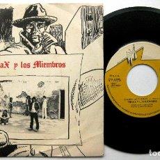 Discos de vinilo: TÓRAX Y LOS MIEMBROS - CAMISA DE FUERZA - SINGLE DNI (DISCOS NACIONALES INDEPENDIENTES) 1984 BPY. Lote 97995247