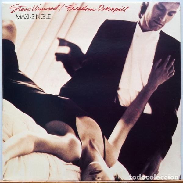 STEVE WINWOOD - FREEDOM OVERSPILL (Música - Discos de Vinilo - Maxi Singles - Rock & Roll)