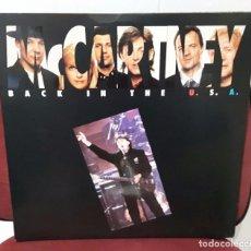 Discos de vinilo: PAUL MCCARTNEY - BEATLES - BACK IN THE USA - 3 LPS-VINILOS COLOR- PORTADA ABIERTA-LIVE USA- PRECIOSO. Lote 97996335