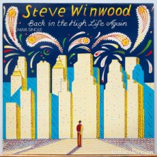 Discos de vinilo: STEVE WINWOOD ?– BACK IN THE HIGH LIFE AGAIN. Lote 97996347
