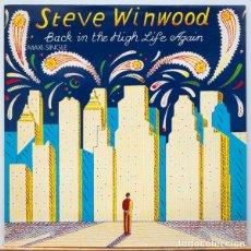Discos de vinilo: STEVE WINWOOD – BACK IN THE HIGH LIFE AGAIN . Lote 97996347