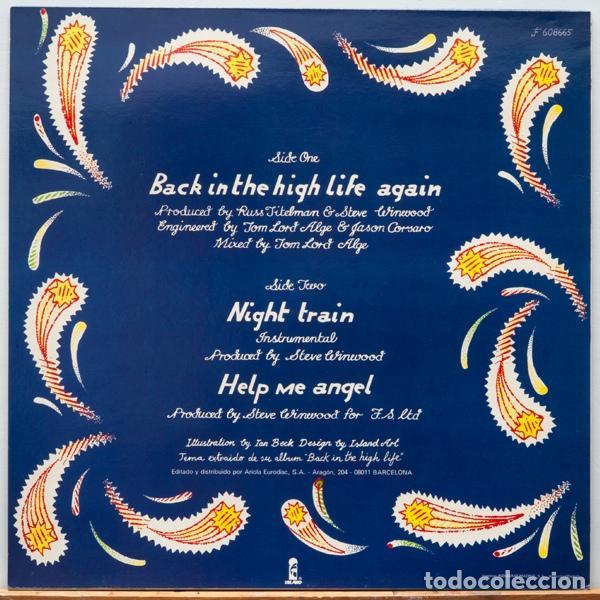 Discos de vinilo: Steve Winwood ?– Back In The High Life Again - Foto 2 - 97996347