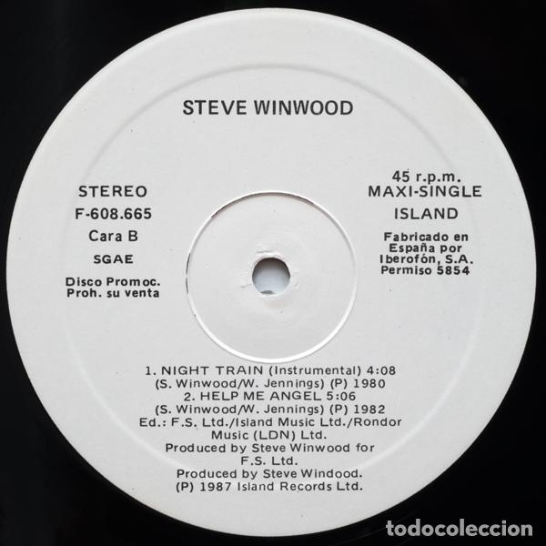 Discos de vinilo: Steve Winwood ?– Back In The High Life Again - Foto 4 - 97996347