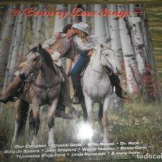 Discos de vinilo: 20 COUNTRY LOVE SONGS LP - VARIOS INTERPRETES - EDICION INGLESA - MFP/EMI 1985 - MUY NUEVO (5). Lote 98002219