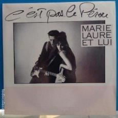 Discos de vinilo: MARIE LAURE ET LUI - C´EST PAS LE PÉROU / SAM ME GLACE - NUEVO PROMO ESPAÑOL. Lote 98005071