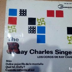 Discos de vinilo: THE RAY CHARLES SINGERS LOS COROS DE RAY CHARLES EP 1964. Lote 98016031