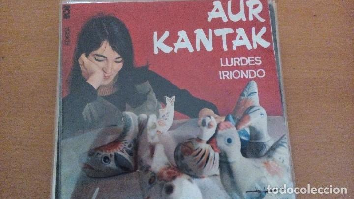 LURDES IRIONDO AUR KANTAK EP CON LETRAS 1966 HERRI GOGOA (Música - Discos de Vinilo - EPs - Country y Folk)