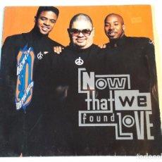 Discos de vinilo: HEAVY D. & THE BOYZ - NOW THAT WE FOUND LOVE - 1991. Lote 98028455