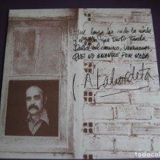 Discos de vinilo: LABORDETA LP FONOMUSIC 1986 - QUE NO AMANECE POR NADA - FOLK ARAGON . Lote 98028915
