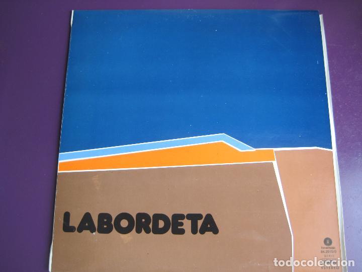 LABORDETA LP FONOMUSIC 1986 - TIEMPO DE ESPERA - FOLK ARAGON (Música - Discos - LP Vinilo - Cantautores Españoles)