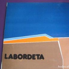 Disques de vinyle: LABORDETA LP FONOMUSIC 1986 - TIEMPO DE ESPERA - FOLK ARAGON. Lote 98028995