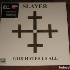 Discos de vinilo: (SIN ABRIR) SLAYER - GOD HATES US ALL - VINILO 180 GRAMOS GATEFOLD. Lote 158376509