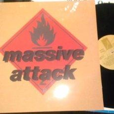 Discos de vinilo: MASSIVE ATTACK LP BLUE LINES.REEDICION. Lote 98040691
