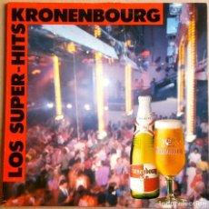 Discos de vinilo: KRONENBOURG LOS SUPER HITS (SPAIN 1989) 33 1/3 RPM. Lote 98043231