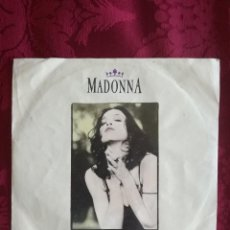 Discos de vinilo: SINGLE MADONNA VINILO LIKE A PRAYER. Lote 98046947