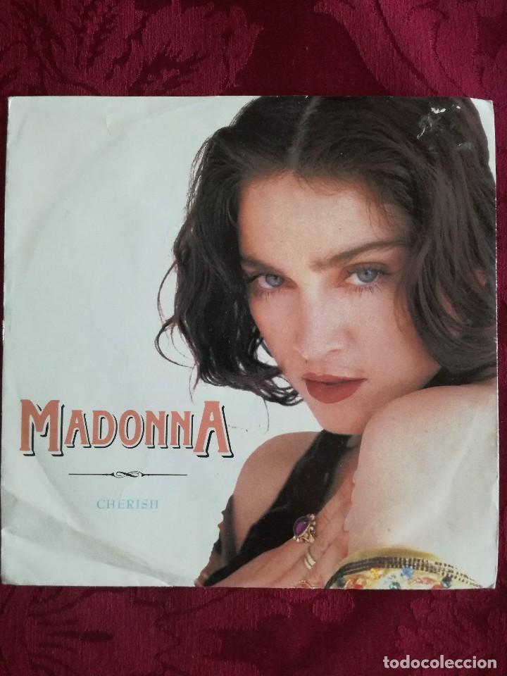 SINGLE MADONNA VINILO CHERISH (Música - Discos de Vinilo - Maxi Singles - Pop - Rock Extranjero de los 90 a la actualidad)