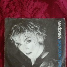 Discos de vinilo: SINGLE MADONNA VINILO PAPA DONT PREACH. Lote 98047175