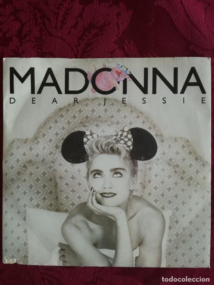 SINGLE MADONNA VINILO DEAR JESSIE (Música - Discos de Vinilo - Maxi Singles - Pop - Rock Extranjero de los 90 a la actualidad)