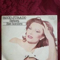 Discos de vinilo: SINGLE ROCIO JURADO SEÑORA VINILO. Lote 98047283