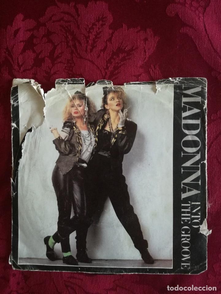 SINGLE MADONNA VINILO INTO THE GROOVE (Música - Discos de Vinilo - Maxi Singles - Pop - Rock Extranjero de los 90 a la actualidad)