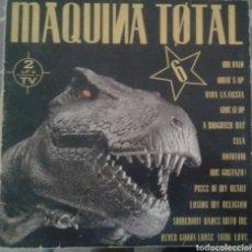 Discos de vinilo: VINILO TECHNO MAQUINA TOTAL 6. Lote 98053323