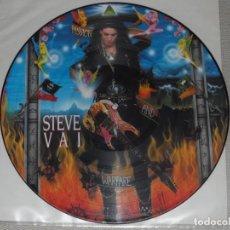 Discos de vinilo: STEVE VAI PASSION AND WARFARE LP PICTURE METALLICA DIO SAXON IRON MAIDEN MEGADETH . Lote 98054291