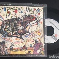 Discos de vinilo: SINGLE EP VINILO LOS TOREROS MUERTOS YO NO ME LLAMO JAVIER BARES BARES. Lote 98056331
