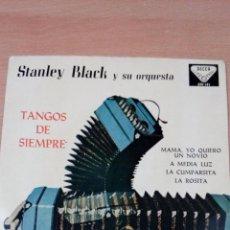 Discos de vinilo: STANLEY BLACK Y SU ORQUESTA- TANGOS DE SIEMPRE - BUEN ESTADO - VER FOTOS. Lote 98059435