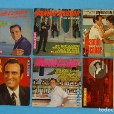 Discos de vinilo: 6 VINILOS EPS MANOLO ESCOBAR. PROBADOS. VER DESCRIPCIÓN. Lote 98060563