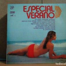 Discos de vinilo: LONE STAR / 5 CHICS / EVOLUTION / IMAGEN Y MAS - ESPECIAL VERANO - EKIPO 5504-VS - 1972. Lote 98062427