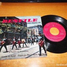 Discos de vinilo: DESFILE DE LA BANDA DE LA AVIACION DE MADRID EP VINILO 1959 M. GOMEZ DE ARRIBA LAS CORSARIAS. Lote 98068259