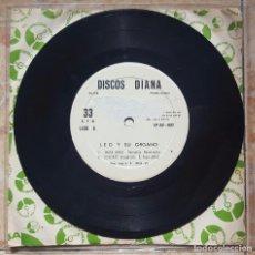 Discos de vinilo: LEO Y SU ÓRGANO- EP WACA WACA+3 - BOLIVIA DISCOS DIANA 1969 - RARISIMO UNICA COPIA EN EL MUNDO!!. Lote 98069195